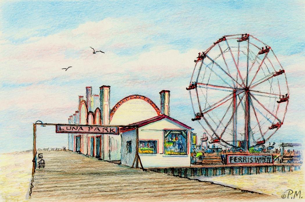 Ocean City Amusement Park Rides