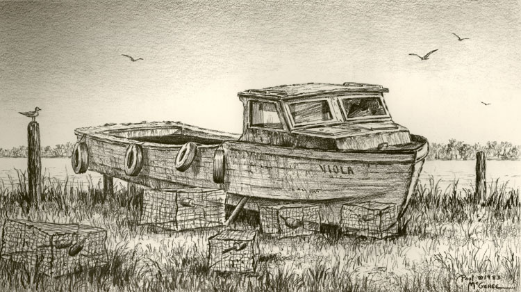 The Abandoned Workboat